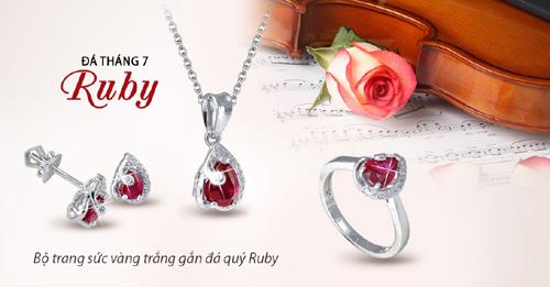 Tháng 7 Ruby: Thành công rạng ngời - Tỏa sáng muôn nơi