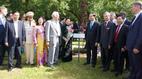 Chủ tịch nước dâng hoa tại Tượng Bác Hồ ở thủ đô Moscow