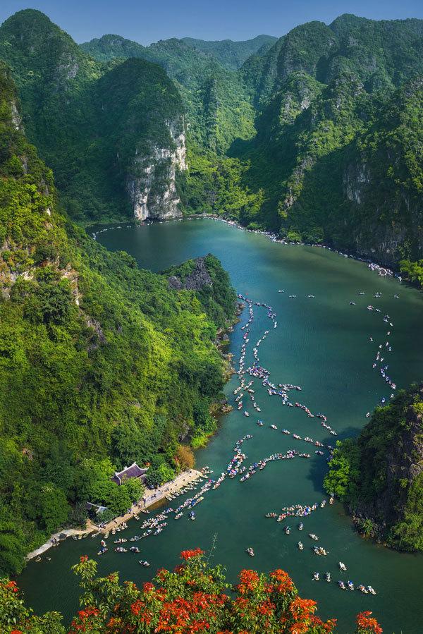 Cảnh Việt Nam đẹp như tranh vẽ