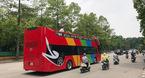 Xe buýt 2 tầng sặc sỡ lăn bánh khắp phố Hà Nội
