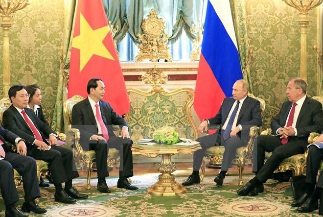 Chủ tịch nước,Trần Đại Quang,Chủ tịch nước thăm Nga,Putin,Biển Đông