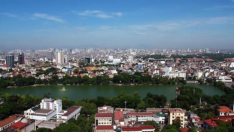 Hồ Gươm, trồng cây xanh, kiến trúc đô thị