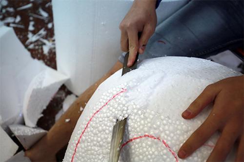 Nhóm học sinh Hà Nội chế tạo mô hình tai người phục vụ môn Sinh học