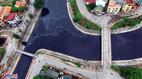 Sông Hà Nội ô nhiễm: Cứ mưa là ùa nhau xả nước bẩn