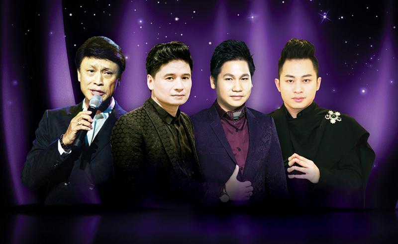 4 giọng ca nam hát hay nhất Việt Nam hội ngộ