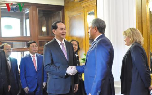 Mối quan hệ Nga – Việt là đặc biệt quý giá