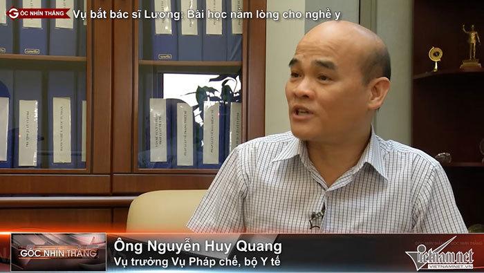 Vụ bắt bác sĩ Lương: Bài học nằm lòng của nghề y