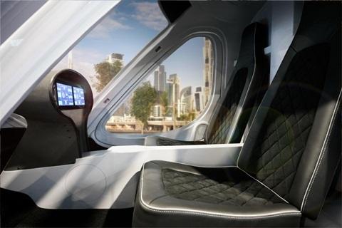 Lần đầu hé lộ về mẫu taxi bay không người lái chở 2 người sắp xuất hiện ở Dubai