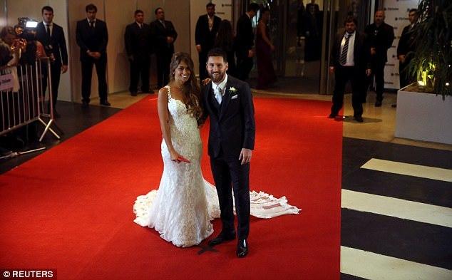 Lionel Messi, Antonella Roccuzzo, đám cưới Messi