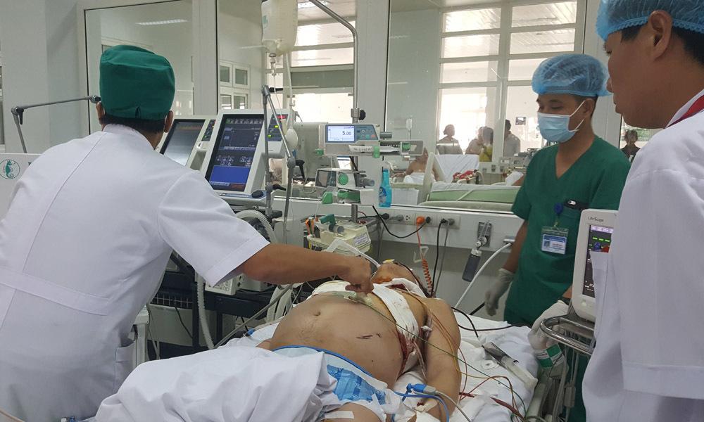 Bảo vệ bệnh viện bị người nhà bệnh nhân đâm đã tử vong