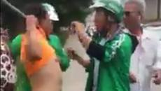 Hà Nội: Xe ôm cầm gậy đuổi đánh Grabbike chạy lòng vòng