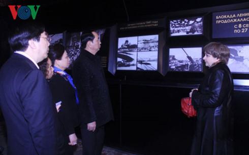Chủ tịch nước, Trần Đại Quang, chủ tịch nước thăm Nga, Chủ tịch nước Trần Đại Quang