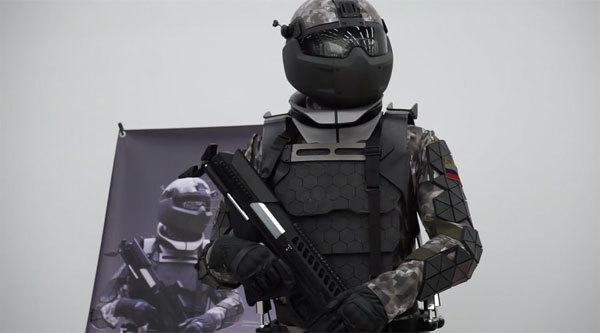 Quân phục chiến đấu 'siêu hiện đại' của Nga