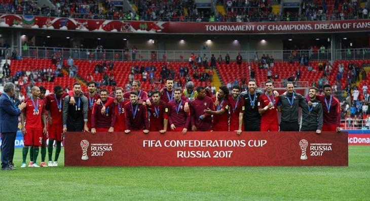 Bồ Đào Nha, Mexico, Ronaldo, Confed Cup 2017