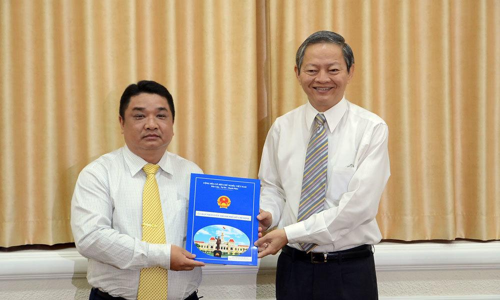TP.HCM bổ nhiệm Phó Giám đốc Sở Giao thông vận tải