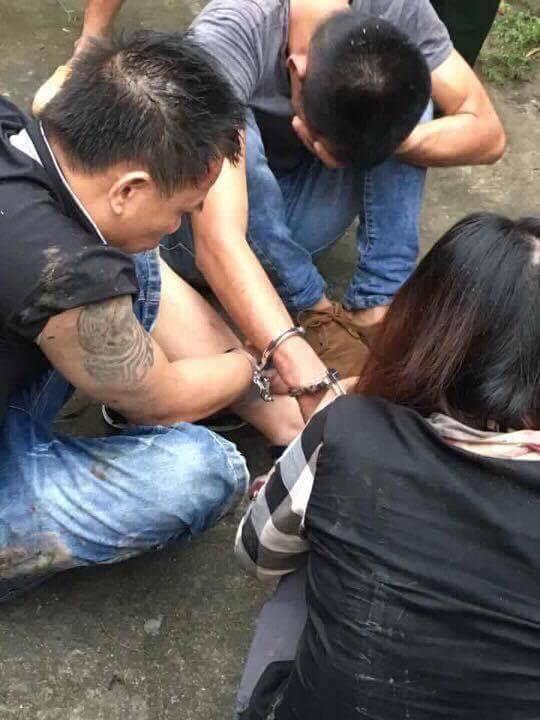 Hải Dương: 2 nam và 1 nữ đến nghĩa trang đào bới bị bắt