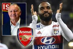 Lacazette xô đổ kỷ lục chuyển nhượng của Arsenal