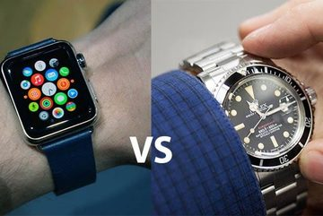 """Apple Watch sắp """"bóp chết"""" ngành công nghiệp đồng hồ Thụy Sỹ?"""