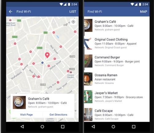 facebook, mạng xã hội, wifi