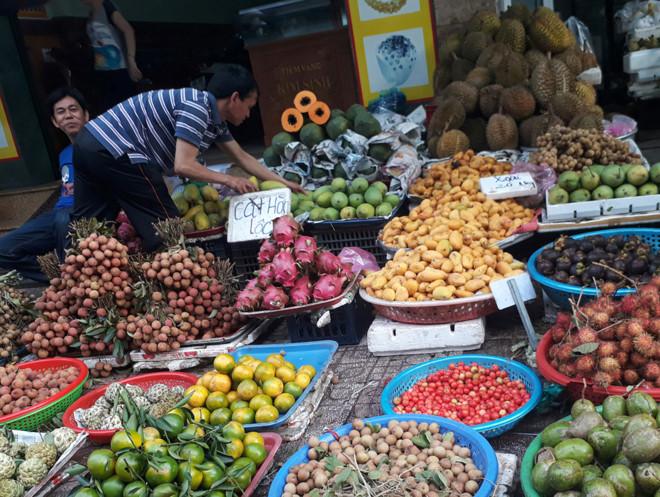 xoài, hoa quả nhập lậu, hoa quả Trung Quốc, thực phẩm bẩn