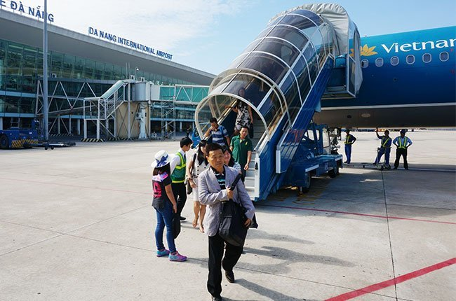 du khách Trung Quốc, khách trung quốc, du khách, du lịch, máy bay