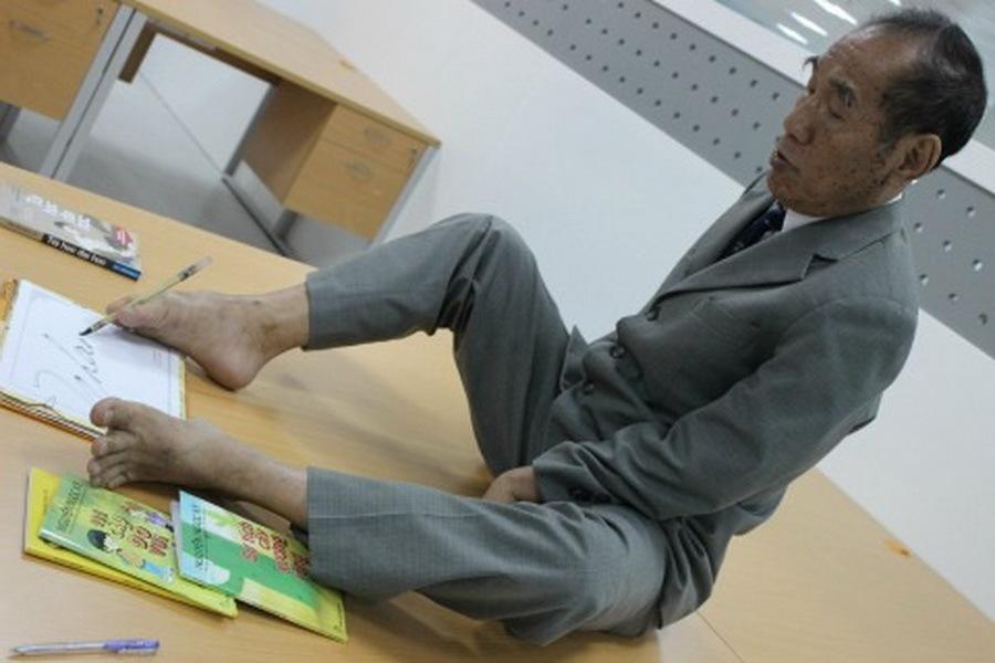 Cuốn tự truyện cuối cùng của nhà giáo viết bằng chân Nguyễn Ngọc Ký