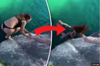 Sự thật về video sốc thiếu nữ ngã khỏi vách đá