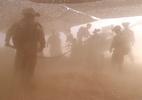 Xem lính Mỹ pháo kích 'dập đầu' IS từ sa mạc