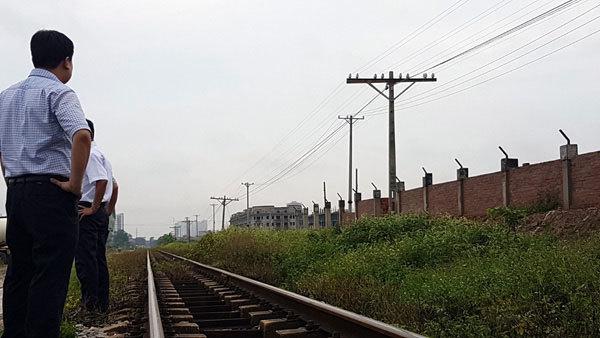 Cục Đường sắt, Tổng công ty ĐSVN, Bộ GTVT, Công ty  Trung Việt, lám chiếm hành lang đường sắt