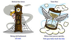 """""""Quay ngược thời gian"""" nói thế nào trong tiếng Anh?"""