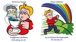"""""""Chase rainbows"""" có dịch là """"đuổi theo cầu vồng""""?"""