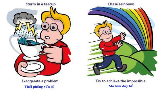 """Học tiếng Anh: """"Chase rainbows"""" có dịch là """"đuổi theo cầu vồng""""?"""