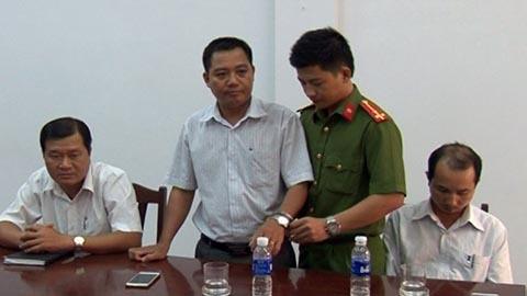 3 cán bộ thuộc Sở TN&MT tỉnh Bạc Liêu bị bắt giam