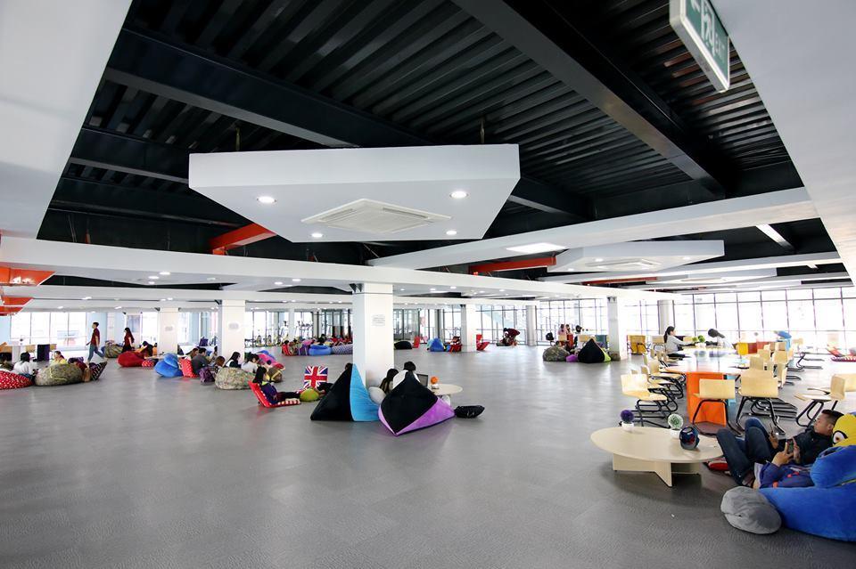 Thư viện 'sang chảnh' của Trường ĐH Nguyễn Tất Thành