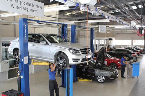 Trải nghiệm dịch vụ hậu mãi tốt nhất từ Mercedes-Benz Việt Nam
