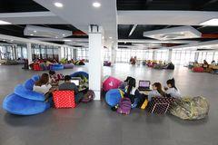 """Thư viện """"sang chảnh"""" của Trường ĐH Nguyễn Tất Thành"""