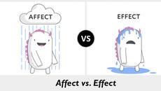 Phân biệt 'affect' và 'effect'