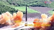 Triều Tiên tung video phóng tên lửa từ nhiều góc độ