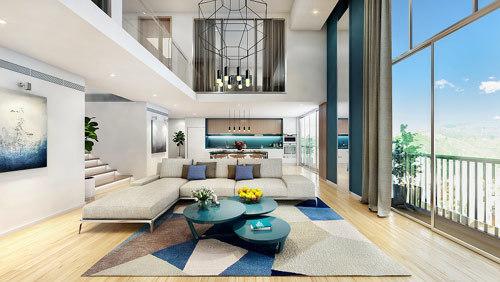 căn hộ cho thuê, bất động sản Hồ Tây, chung cư cao cấp, PentStudio, The Asscot, PentHouse,