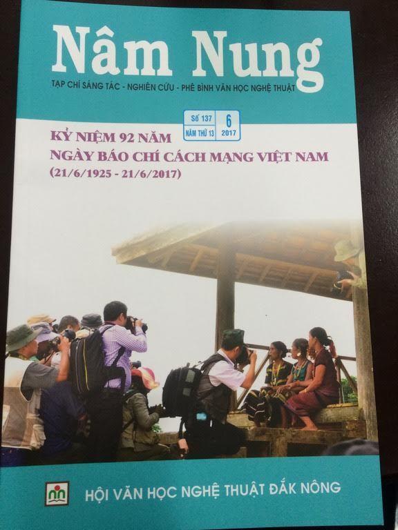 thẻ nhà báo, Đắk Nông, sai phạm , đạo văn, kiểm điểm
