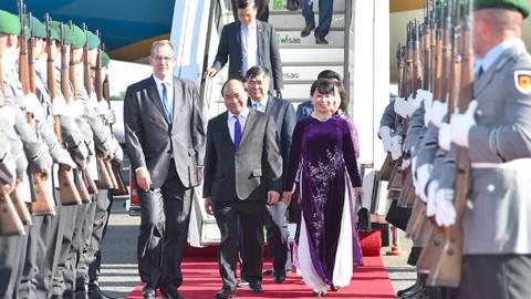 Thủ tướng,Nguyễn Xuân Phúc,Thủ đô Berlin