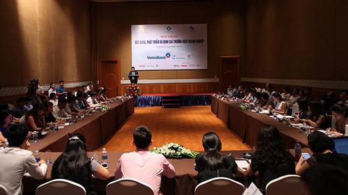 Trực tuyến:Hội thảo Xây dựng-phát triển-định giá thương hiệu DN