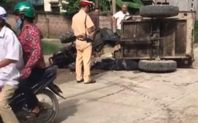 CSGT Hà Nội nói về vụ đuổi công nông khiến tài xế tử vong