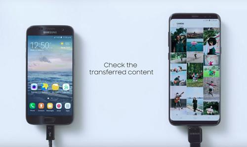 Sao chép dữ liệu dễ dàng với Samsung Smart Switch