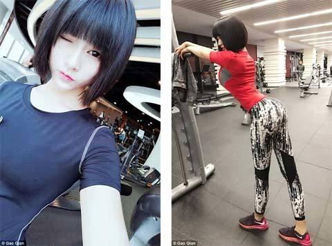 Nỗi niềm của cô gái có vòng ba đẹp nhất Trung Quốc