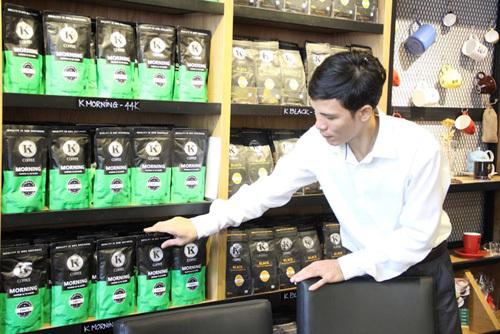 KCOFFEE Showroom-Nơi thưởng thức ly cà phê nguyên chất đúng vị