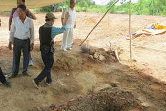 Phát hiện huyệt mộ vợ vua Tự Đức bị san ủi