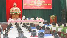Hàng năm, Bộ trưởng, Chủ tịch tỉnh đối thoại với thanh niên