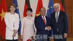 Thủ tướng Nguyễn Xuân Phúc hội kiến Tổng thống Đức