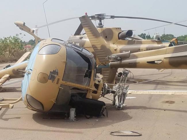 Không quân một nước gần bị xóa sổ vì bão lớn